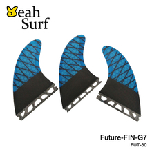 Quilhas Future G7 Fins Blue Honeycomb L Size Surf Fin High Quality G7 Future Carbon Fiber Surfboard Fins Free Shipping