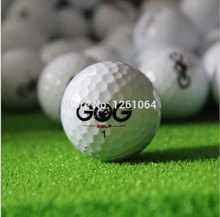 Free Shipping 2017 Hot Selling Golf Game Ball Two Layers High-Grade Golf Ball Direct Manufacturer Promotion Golf Balls10pcs/bag(China)