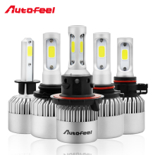 H1 H4 H7 H11 H13 H16 COB All in one Led car Headlight Kit Bulb Led 9004 9005 9006 9007 12V 36W 8000LM 6000K light Auto Head Lamp