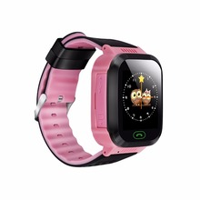 New Product Y21 Touchscreen with Camera,Unlocked Watch Cell Phone with Sim Card Slot,Waterproof gps kid smartwatch(China)