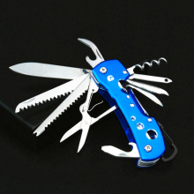 Swiss Multifunctional Knife folding Army Knife EDC Tool Ferramentas Outdoor Survival Knife(China)