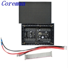 Coreman Hot Sale Green Led P3 P4 P5 P6 Full Color Led Display Screen Price/ Led Display Module p3 small board module 64x32