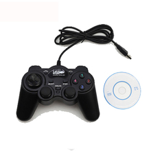 USB Wired Double Vibration Gamepad Joystick Game Pad Multifunctional Controller For PC Laptop Computer For Win/XP/Vista/TV BOX