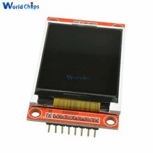 "1.8"" inch TFT LCD Display Module ST7735S 128x160 51/AVR/STM32/ARM 8/16 Bit SPI Serial PCB Adapter For LCD One SD Card Socket(China)"