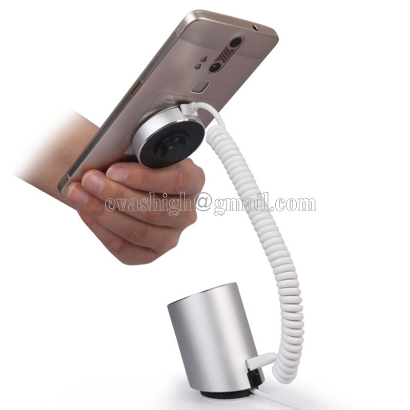 360 Degree Rotate Mobile Phone Security Alarm Stand Tablet Display Holder Cellphone Pad Burglar Alarm Retail Anti Theft Mount <br>
