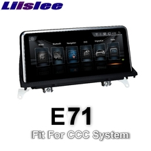 For BMW X6 E71 2008~2010 LiisLee Car Multimedia GPS Audio Hi-Fi Radio Stereo Original Style For CCC Navigation NAVI(China)