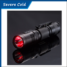 Nitecore MT20C 2015 New Portable Tactical Flashlight CREE XP-G2 R5 460 Lumens Red Light Illumination 18650 Searching Hand Light(China)