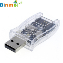 Binmer Factory Price Hot Super SIM Card Reader Writer Cloner Edit Copy Backup GSM CDMA USB 60330 Drop Shipping