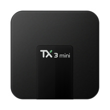 TANIX S905W TX3 MINI Android 7.1 Smart TV BOX Amlogic 4 K Caixa de TV Quad Core 2 GB/16 GB KODI 17.3 WIFI LAN Media Player(China)