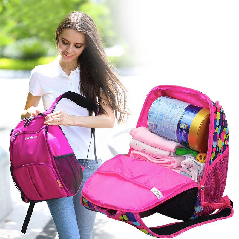 Baby Diaper Nappy Bag Big Capacity Mummy Package Multifunction Shoulder Backpack Nappy Changing Storage Diaper Bags Baby Large<br><br>Aliexpress