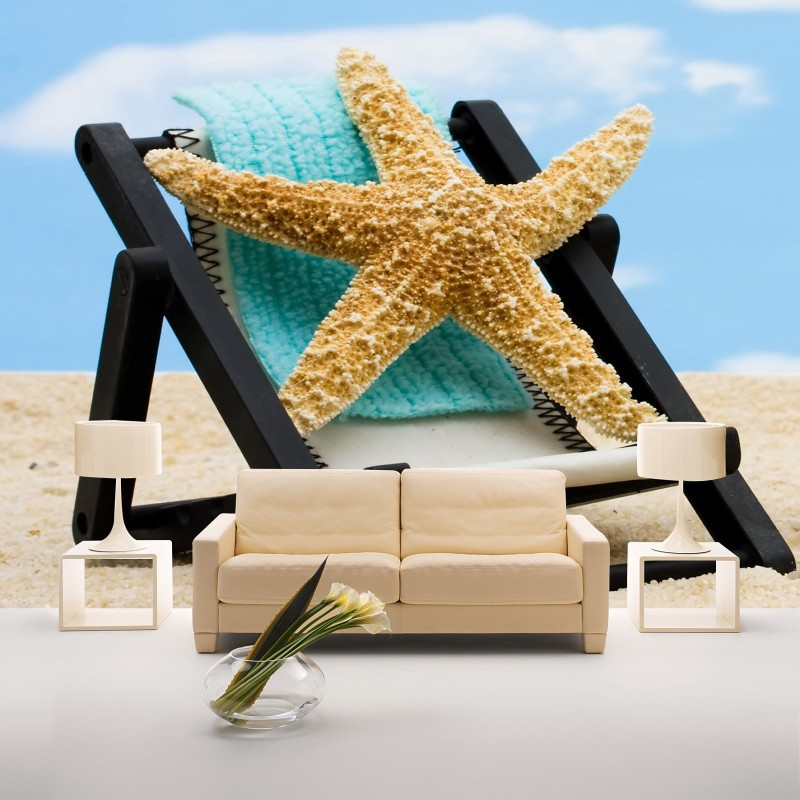 Newest Custom 3d photo beach starfish scenery 3d papel de parede useage living room 3d wallpaper 3d wall paper mural<br><br>Aliexpress