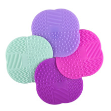 1 PC 8 Colors Silicone Cleaning Cosmetic Make Up Washing Brush Gel Cleaner Scrubber Tool Foundation Makeup Cleaning Mat Pad Tool(China)