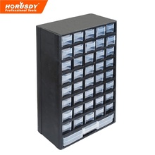 HORUSDY Drawer Plastic Parts Storage Hardware and Craft Cabinet Tool Box 12.2*5.4*19.3 inch