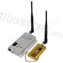 FPV 1.2Ghz 1.2G 8CH 1500mw Wireless AV Signal Sender TV Audio Video Transmitter Receiver For RC Car
