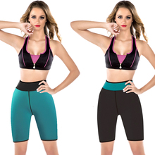 2017 Women Slimming workout sweat control panties sauna suit panty sexy exercise hot shaper body shaper sweat shorts S - 3XL(China)
