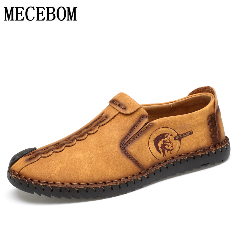 Mens Loafers big size 38-46 comfortable slip-on casual boat shoes footwear Men Flats Hot Sale Moccasins Shoes 602m<br>