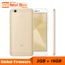 Original Xiaomi Redmi 4X Snapdragon 435 Octa Core CPU Redmi 4 X Mobile Phone 2GB RAM 16GB ROM 5.0-Inch 13MP Camera 4100mAh