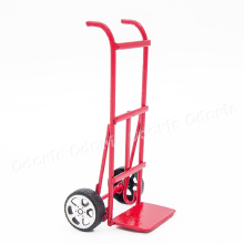 Odoria 1:12 Miniature Metal Hand Truck for Outdoor Dollhouse Fairy Garden Accessories(China)