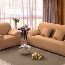 Popular Sale Sofa Covers Stretch Couch Cover Seat Sofa Slipcover Loveseat Home Furniture Protector Seven Colors(China)
