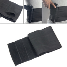 Vapan Tactical Elastic Waist Concealed Carry Holster Belly Band Pistol Gun Holster 2 Magzine Pouches Elastic For Glock 23 226