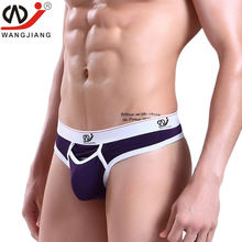 Buy WJ brand men sexy underwear briefs men g-string gay underwear sexy Men Jockstrap Low Waist thongs men bikini - 2008DK