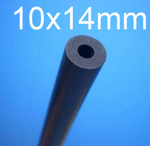 10mm ID 14mm OD 10x14mm fluororubber tube,VITON rubber tube,Fluorine rubber hose Oil resistant solvent corrosion resistance pipe