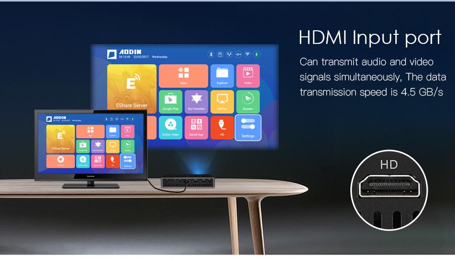 AODIN M9 mini Projector Smart Multi-touch screen1G+32G LED Portable Projectors DLP 300 lumen 5000mAh Battery HD Pocket Projector-09