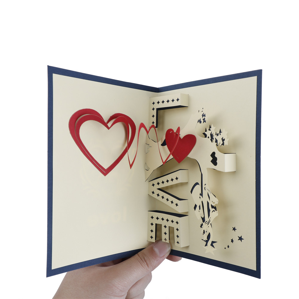 3d pop up cards with love greeting cards heart tree laser cut specifications100brand new and high quality colorbluered sizeplease allow 1 2cm error15cm10cm material paper quantity 1pc kristyandbryce Gallery