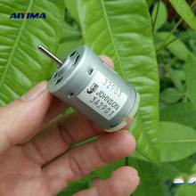 AIYIMA 5pcs Micro 380 DC Motor DC7.4V 32500RPM High Speed Violence Boat Car Model Motors