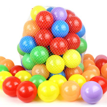 50pcs Toy Balls Children's Educational Toys Marine Ball Baby Dither ABS Material Playpen Plastic Balls for Pop Up Pool Ball Pits(China)