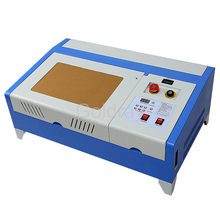 New 110/220V co2 laser engraver 40w laser cutting machine with USB port, lift system / up and down Laser positioning