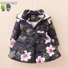 Buy Winter Girls Clothes Girl Winter Jackets Coat Children Winter Jackets Girls Wadded Jacket Child Outerwear Thickening for $29.47 in AliExpress store