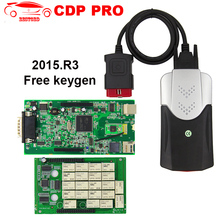 New DS CDP TCS Pro OBD2 Diagnostic Tool 2015.R3 with Free Keygen for Cars / Trucks Diagnostic-tool OBDII Scanner