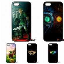 For iPhone 4 4S 5 5C SE 6 6S 7 Plus Galaxy J5 J3 A5 A3 2016 S5 S7 S6 Edge Legend of zelda Collage Print Hard Phone Case Cover