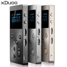 XDUOO X3 HiFi MP3 Player Professional Lossless Music HD 1.3'' OLED Screen Support 2 Max 128G TF Cards lightweight(China)