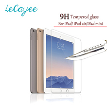 9H Premium Tempered Glass For ipad 2 3 4 mini 1 2 3 4 ipad air 2 Screen Protector Film Case Cover For Apple ipad air/air 2