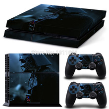 New !!! Star Wars 3Sets Vinyl Decal For PS4 Skin Stickers Wrap for Sony PlayStation 4 Console and 2 Controllers Decorative Skin