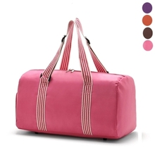women storage bag Large capacity storage bag shoes storage bagClothing and shoes bags pink Family Clothing Storage Bag