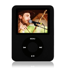 "Brand New 8GB Slim MP4 Player 3th 1.8 inch 1.8"" Digital LCD Screen Music FM Radio Video Game Movie Player Photo Viewer eBook"