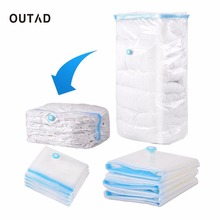 OUTAD Household Large Space Saver Saving Storage folding Bag Vacuum Seal Compressed Organizer 5 Size with Retail Package for Bed
