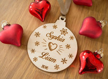 Christmas Ornaments - For Her - Personalized - Christmas Decorations - Personalized Girlfriend Gift - Gift Hostess - Personalize(China)