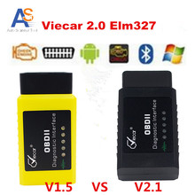 2017 Newest ELM327 Viecar 2.1V Bluetooth OBD2 Scanner Auto Diagnosis Tool elm 327 Bluetooth Support Android/Windows