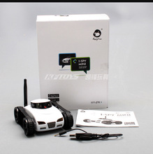 Mini i-Spy 4CH RC Tank Controlled By IPhone/iPad/Android/IOS Wifi Camera Remote Control Toys 777-270 Best Christmas Gift