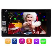 Car Radio Double 2 din Car DVD Player GPS Navigation In dash Car PC Stereo video+Free gps Map+Free Camera+steering wheel control