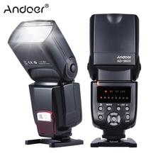 Andoer AD-560II Universal Flash Speedlite On-camera Flash GN50 w/ Adjustable LED Fill Light + Andoer Universal Flash Trigger(China)