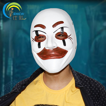 Who Am I Mask the Movie Theme Science Fiction for Party Halloween Christmas Cosplay Resin Mask Adults Full Face(China)