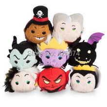 Tsum Tsum Villains Maleficent Dragon Evil Queen Dr.Facilier Ursula Cruella De Vil Jafar as Genie Plush Kids Stuffed Toys(China)