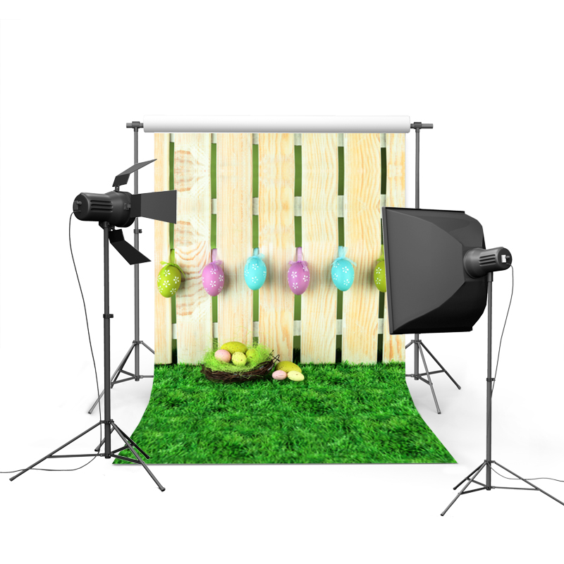 1.5MX2.2M Easter photography backdrops vinyl cloth background digital printed with muiti-colored eggs and flowers GE-020<br><br>Aliexpress