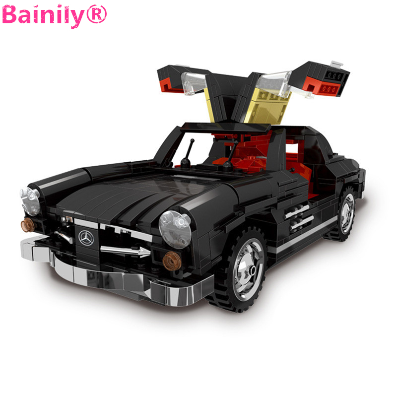 [Bainily] 825Pcs Creative MOC Technic Series Photpong Car Building Blocks Bricks Children Toys Gifts<br>