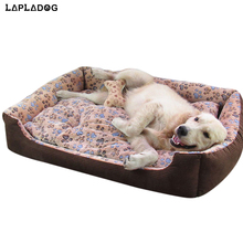 LAPLADOG Double Sided Available Large Dog Bed Small Medium Dog Pet House Warm Soft Waterproof Cat Mat Big dogs Home Kennel ZL376